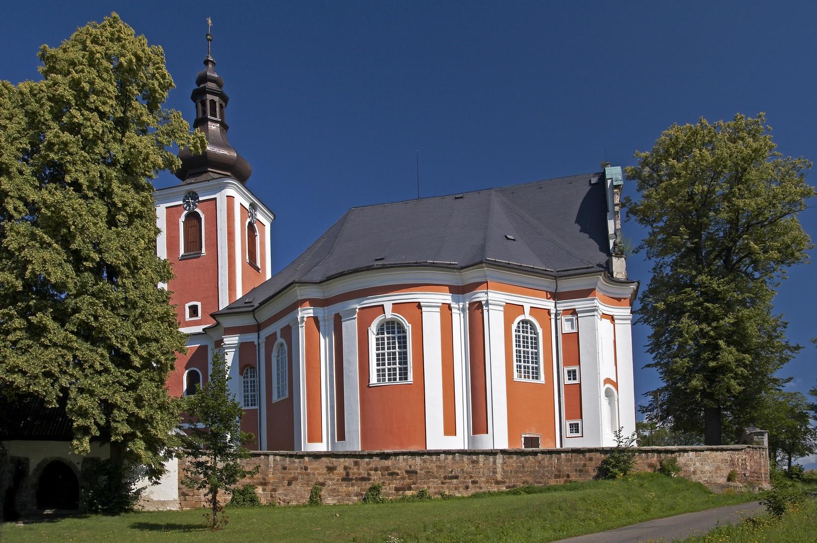 Kostel sv. Marie Magdaleny v Božanově