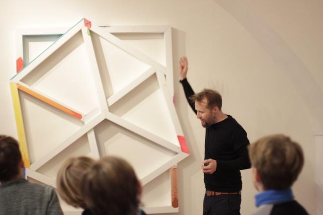 Otwarto wystawę Davida Hanvalda w Galerii DziecięcejLapidarium.