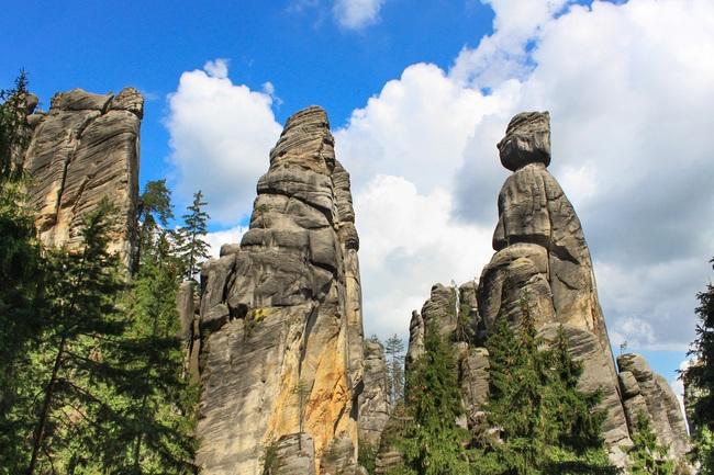 Skały Aderszpachu - Narodowy Rezerwat Przyrody